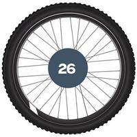 """26"""" MTB plašči"""